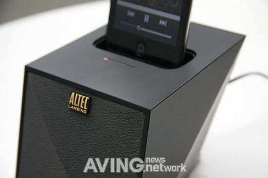 altac lansing iphone docking speaker 2