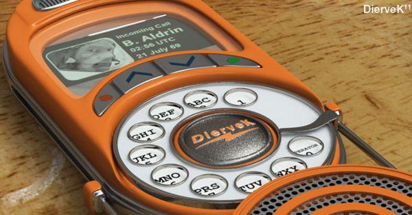 Analog Rotary Mobile Phone