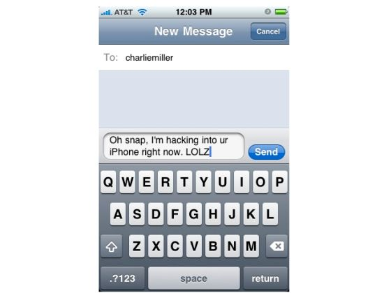 apple iphone sms vulnerability