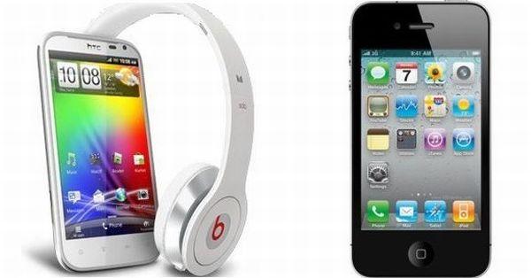 Apple iPhone 4S vs HTC Sensation XL