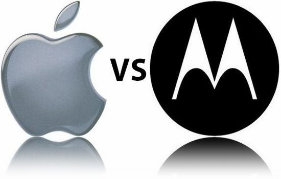 Apple/ Motorola battle over patent infringement