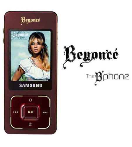 Beyonce Knowles B Phone By Samsung Cellphonebeat