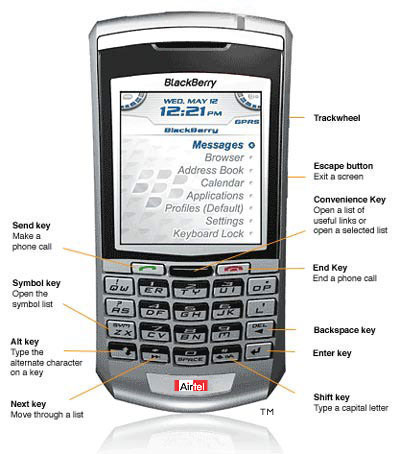 blackberry 318