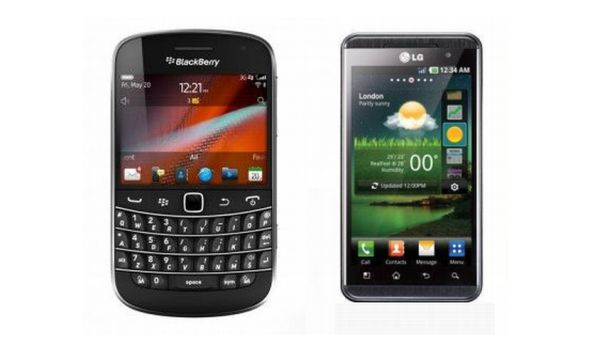 BlackBerry Bold 9900 vs. LG Optimus 3D