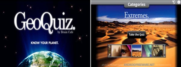 Brain Cafe GeoQuiz