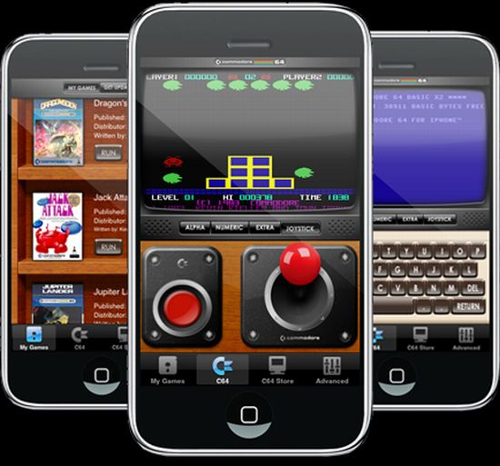 c 64 iphone emulator