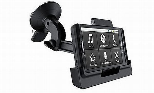 Car mount for Droid