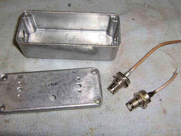 Case and connectors