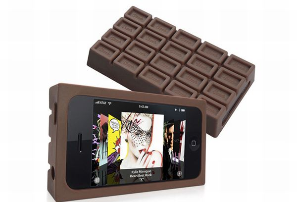 Chocolate Style Silicone case for iPhone