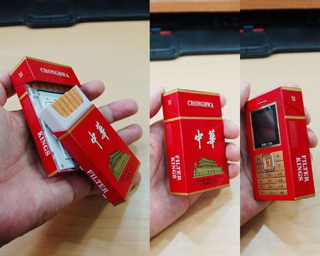 Cigarette phone