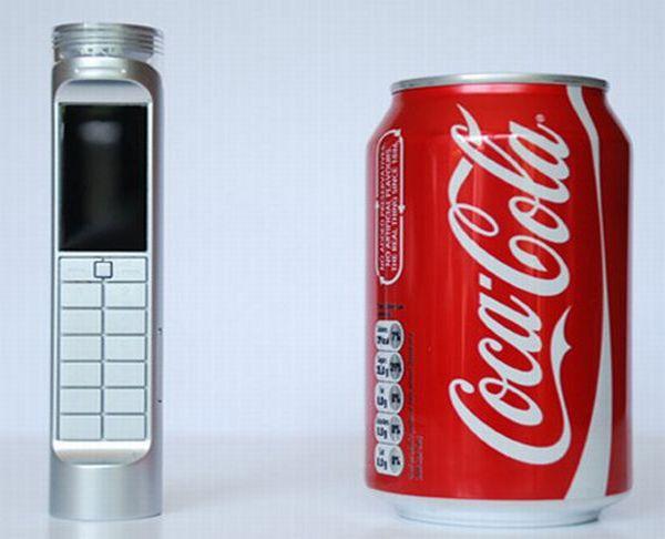 Coke powered mobile phone