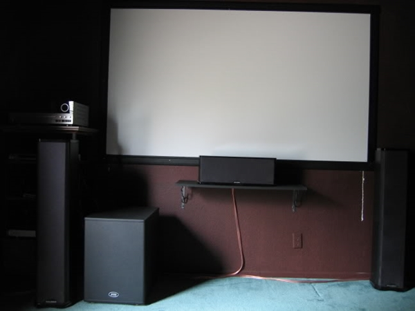 DIY screen projector