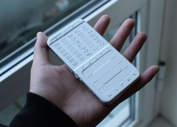 DrawBraille Phone