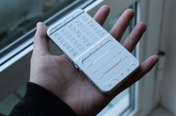 DrawBraille Touch Phone