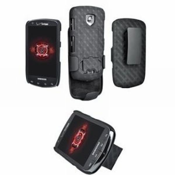 Droid Charge Cover and Belt Clip Case
