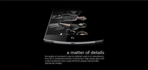 Envy 4G Details