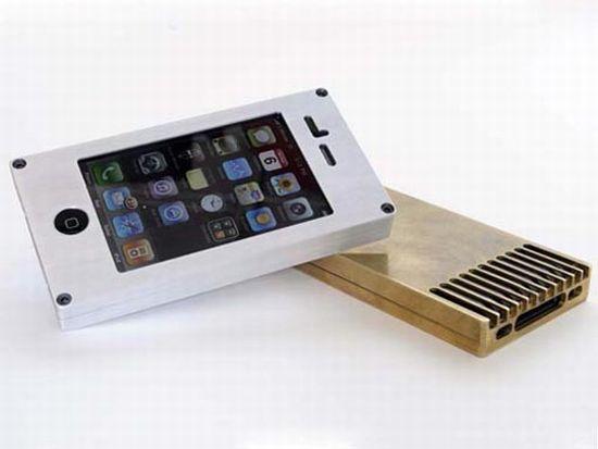 exovault metallic iphone cases image 1