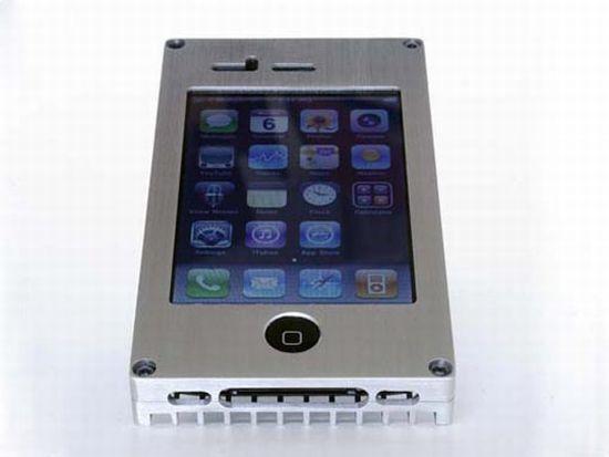 exovault metallic iphone cases image 3