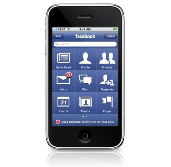 facebook iphone app 3