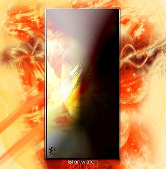 full touchscreen walkman concept sony 5Gb2t 5965
