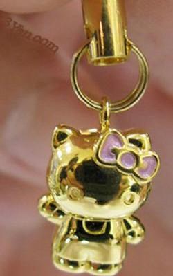 hello kitty mobile phone strap cmYDG 2263