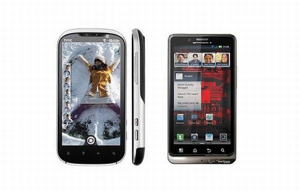 HTC Amaze 4G vs. Motorola Droid Razr