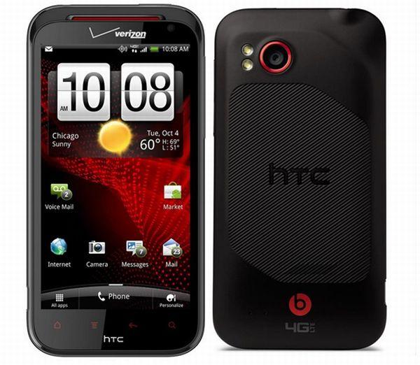 HTC Evo Design 4G vs. HTC Rezound