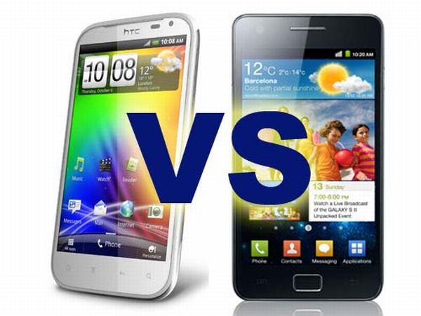 HTC Sensation XE vs. Samsung Galaxy S2