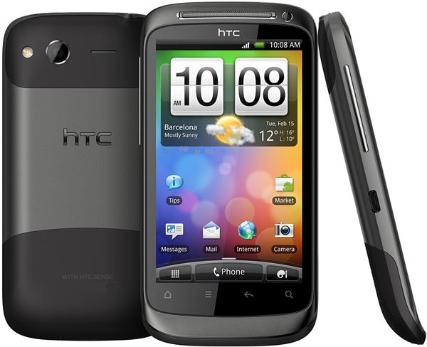 HTC smartphones of 2011