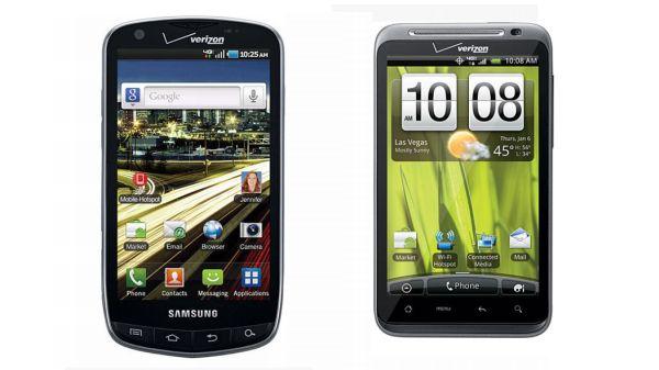 HTC ThunderBolt vs. Samsung Stratosphere