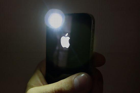 iphone flashlight 1