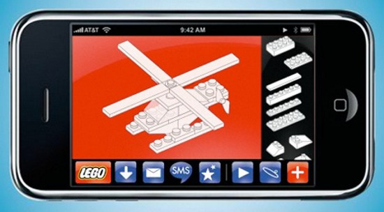 iphone lego touch