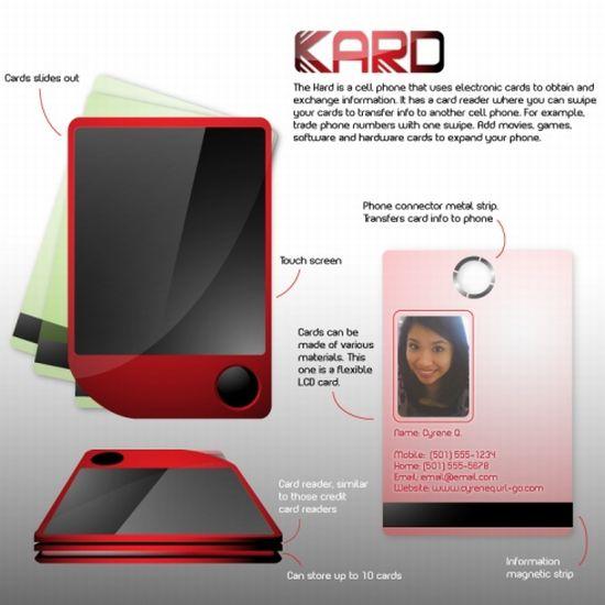 kard concept phone image 1