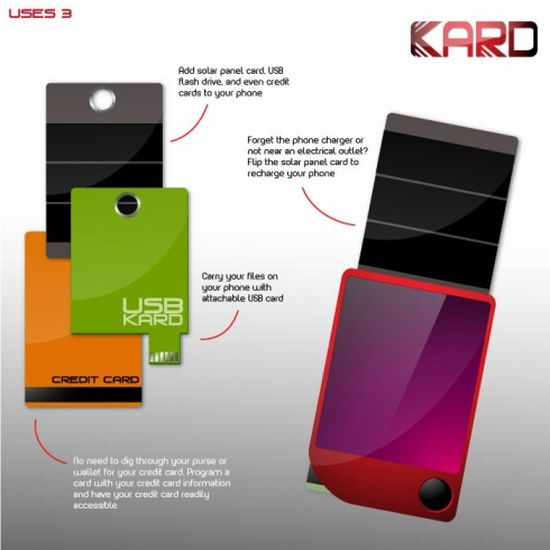 kard concept phone image 3