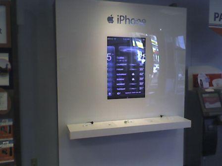 kiosk iphone 3342