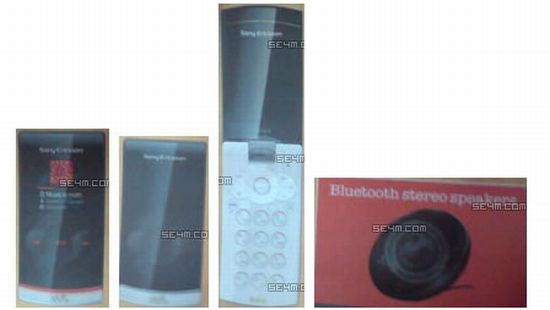 leaked images of sony ericsson phone