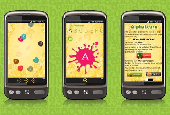 Learning alphabets can be fun for you toddlers with AlphaLearn