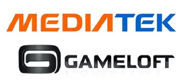 Media Tek and Gameloft logo