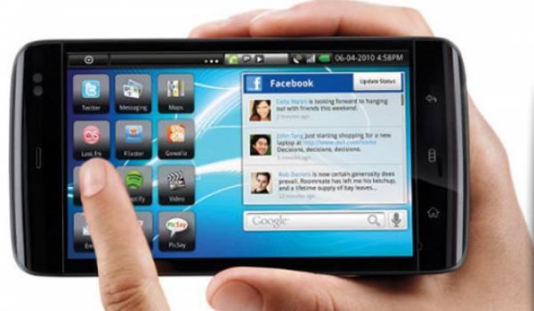 Mobile Broadband usage on Smartphone in India