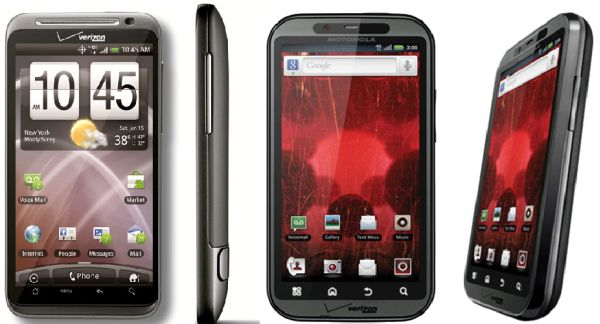 Motorola Droid Bionic vs. HTC Thunderbolt