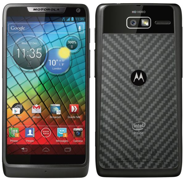 Motorola RAZR™ i with Intel Inside