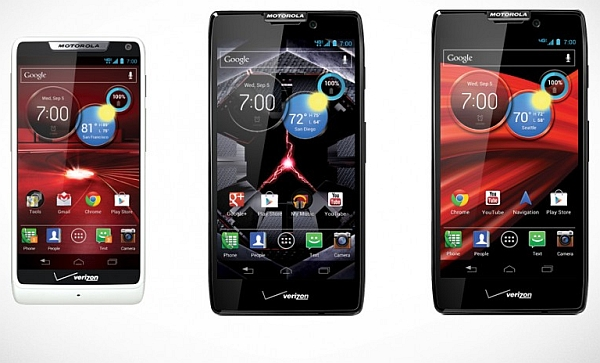 Motorola's RAZR HD and RAZR HD Maxx S