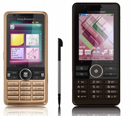new phones from sony ericsson