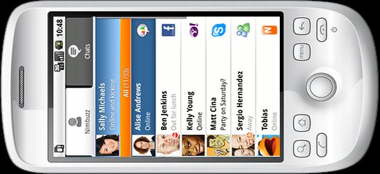nimbuzz app on android