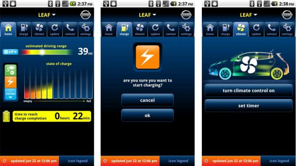 Nissan LEAF Smartphone App