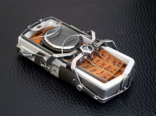 nokia 2330 steampunk phone 3