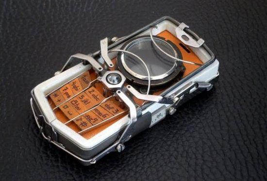 nokia 2330 steampunk phone