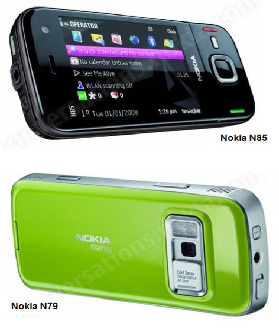 nokia n85 and nokia n79 uarkZ 17340