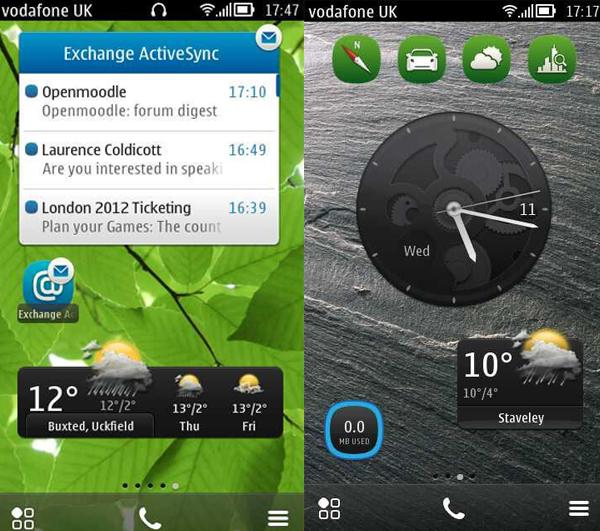Nokia Belle FP1 update