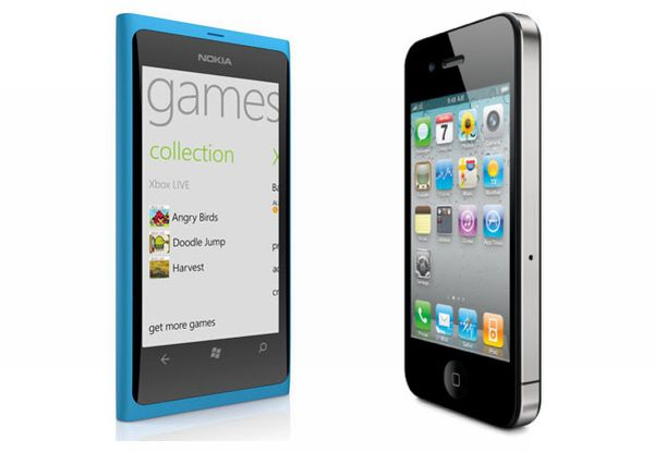 Nokia Lumia 800 vs. iPhone 4S